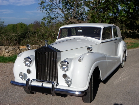 location rolls royce silver wraith landaulet 1955 americar prestige. Black Bedroom Furniture Sets. Home Design Ideas